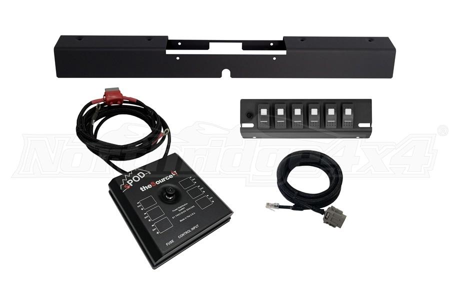 sPOD SourceLT w/ LED Switch Panel - Amber - LJ/TJ 2003-06