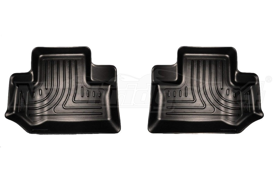 Husky Liners Rear Floor Liner Black (Part Number:19041)