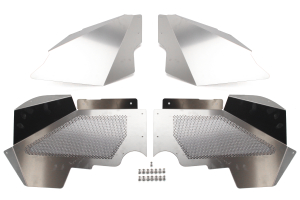 Crawler Conceptz Ultimate Series Aluminum Front Inner Fender Kit w/No Logo ( Part Number: ULT-LN-002)