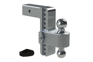 Weigh Safe 180degree Turnover Ball 8in Drop Hitch w/ 2.5in Shaft (Part Number: )