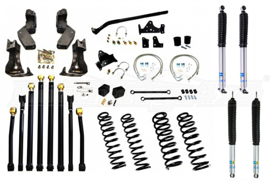 EVO Manufacturing Double D Long Arm Kit w/ Shocks (Part Number:1084-35-1084-37)