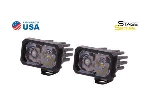 Diode Dynamics SSC2 2in Pro Standard Spot Light RBL, Pair