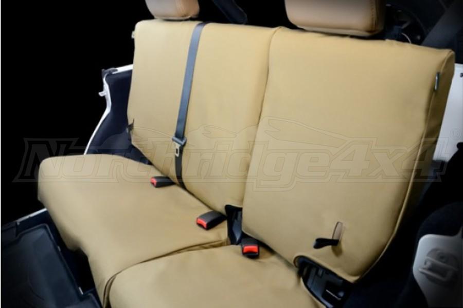 AEV Rear Seat Covers Khaki  - JK 2dr