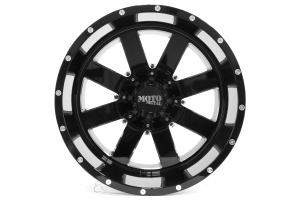 Moto Metal Wheels MO962 Gloss Black With Milled Accents 20x12 8x6.5 (Part Number: )