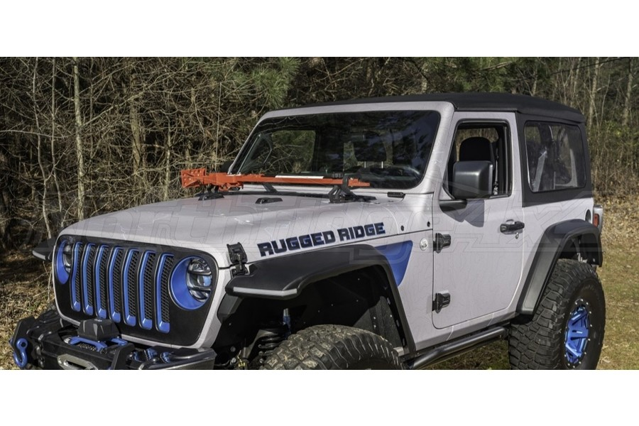 Rugged Ridge Max Terrain Front and Rear Fender Flare Set  - JL