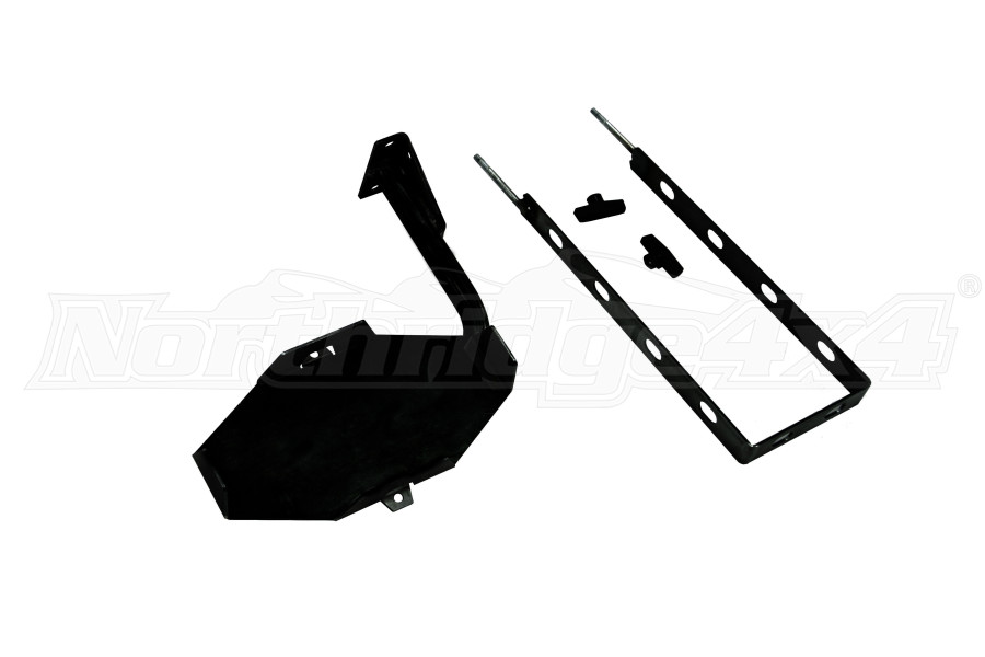 LOD Destroyer 5 Gallon Jerry Can Mount / Drivers Side - Powder Coated  (Part Number:JJC0711)