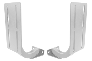 LOD Horizontal Rotopax 2/3 Gallon Container Mount Pair Bare Steel (Part Number: )