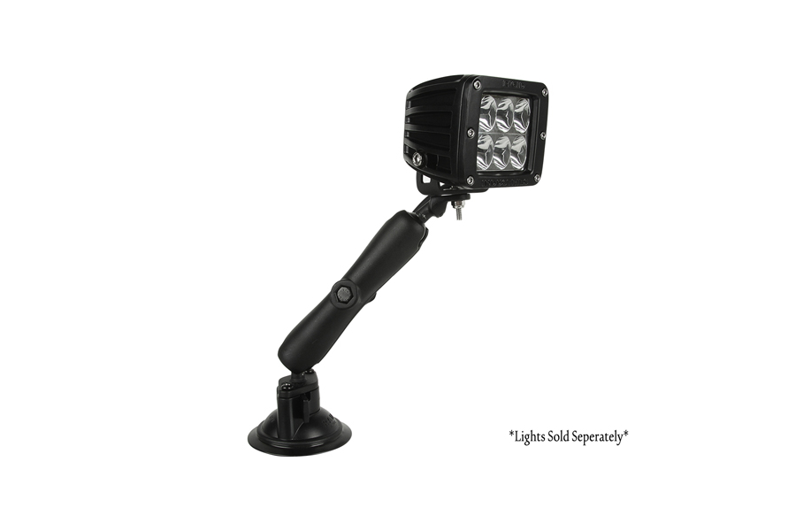 Rigid Industries RAM Suction 6in Arm 1x1 Plate
