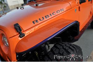 Poison Spyder Front Crusher Flares  Standard Width Aluminum  (Part Number: )