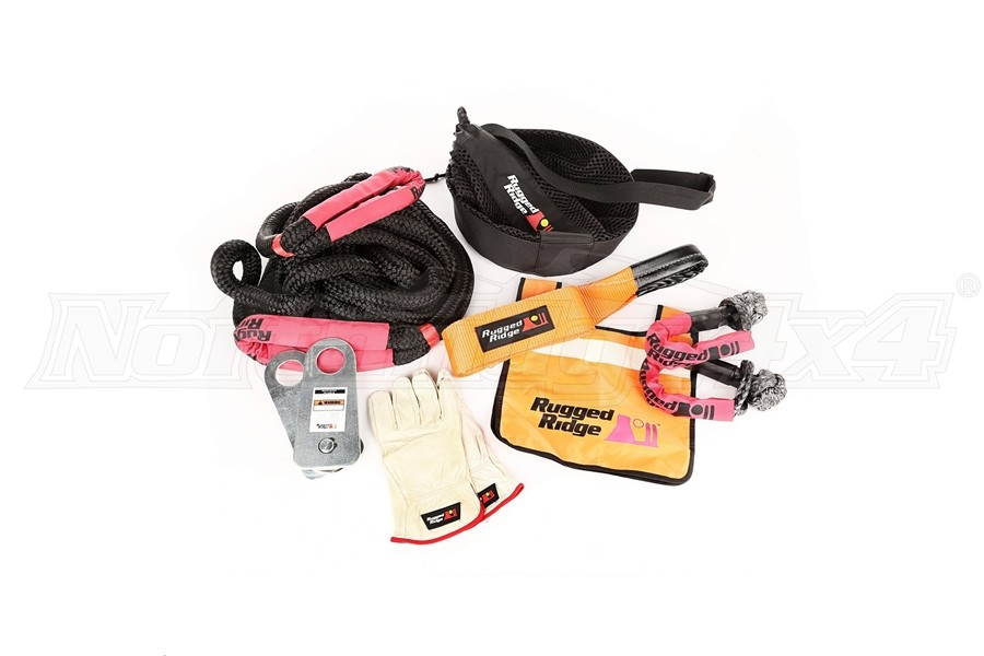 Rugged Ridge Premium Recovery Kit (Part Number:15104.29)