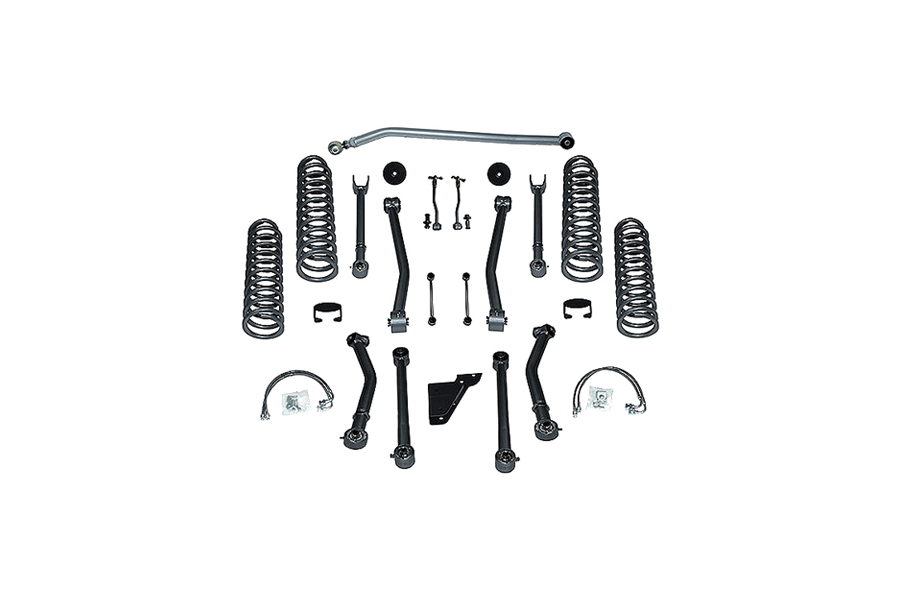 Rubicon Express SuperFlex 3.5in Short Arm Lift Kit No Shocks (Part Number:RE7123)