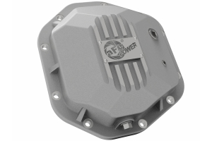 AFE Power Street Series Dana 44 Rear Differential Cover - Raw - JK/LJ/TJ