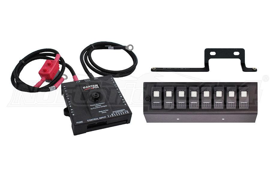 sPOD Bantam w/8 Switch Panel System Blue (Part Number:BAN8-600-0915-LEDB)