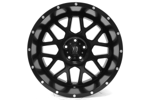 XD SERIES XD820 Grenade Wheel, Satin Black 20x10 5x5 (Part Number: )