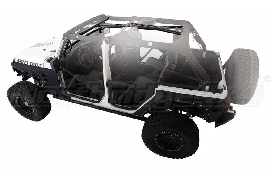 Smittybilt SRC Cage Kit, Black (Part Number:76904)