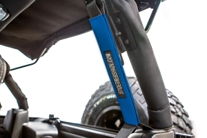 SpiderWebShade Seatbelt Silencers - Blue - JK 4Dr