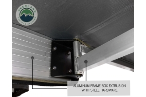 Overland Vehicle Systems Nomadic 270-Degree Awning w/ Wall 1, 2, 3 and Mounting Brackets - Driver Side