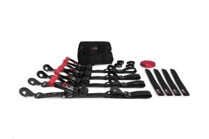 SpeedStrap Ultimate Off-Road 2in Tie-Down Kit, Black