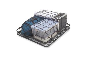 Rugged Ridge Universal Cargo Net Roof Rack Stretch Net (Part Number: )