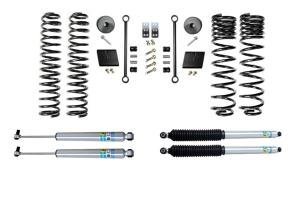 Evo Manufacturing 2.5in Enforcer Stage 1 Lift Kit w/ Bilstein Shocks - JT
