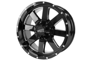 Moto Metal Wheels MO962 Gloss Black /w Milled Accents 20x9 8x6.5 (Part Number: )