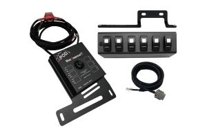 sPOD Source LT w/ LED Switch Panel - Green - JK 2009+