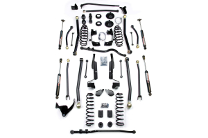 Teraflex Elite LCG 6in Elite LCG Long FlexArm Lift Kit w/ 9550 Shocks - JK 4DR