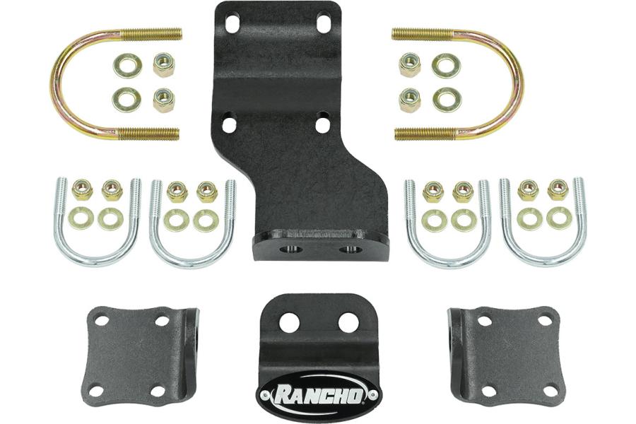 Rancho Performance Dual Steering Damper Bracket - JL