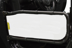 Dirty Dog 4x4 Olympic Front Tube Door Screen, White (Part Number: )