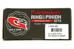 G2 Axle and Gear Dana 44 4.88 Rear Performance Ring and Pinion Set (Part Number: )