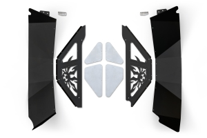 Poison Spyder Rear Inner Fender Kit Black (Part Number: )