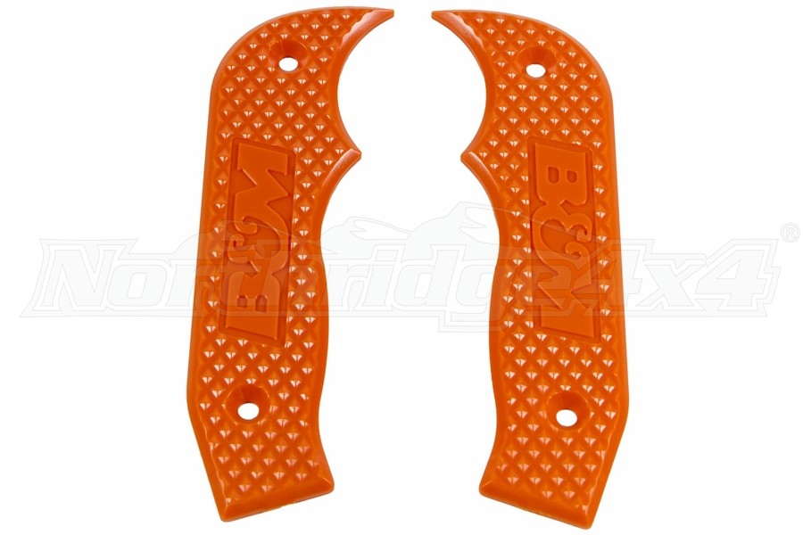 B&M Racing Magnum Shifter Replacement Grip Plates - Orange