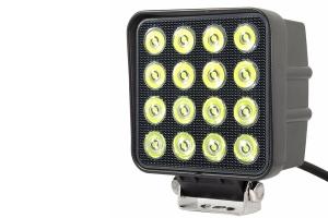 Quake LED 4in RGB Accent Fracture Series Work Light - Quad Lock/Interlock Compatible