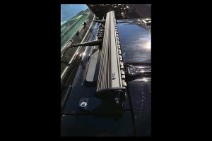 Quake LED 52in Single Straight Light Bar Cowl Mount - JL/JT
