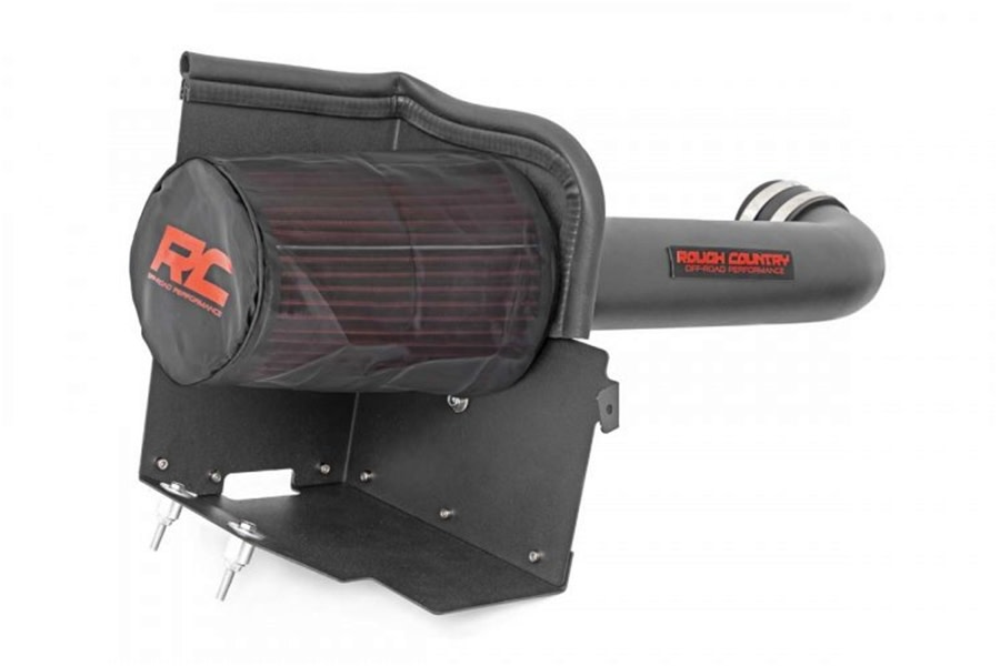Rough Country Cold Air Intake System w/ Pre-Filter Bag  - JK 2007-11 3.8L