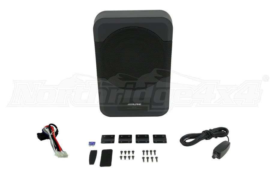 Alpine Compact Powered 8-Inch Subwoofer System  (Part Number:PWE-S8)