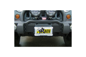 AEV Roller Fairlead License Plate Mounting Kit (Part Number: )