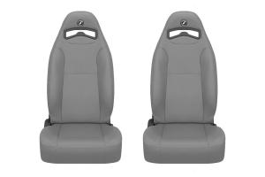 Corbeau Moab Grey Vinyl Seat Pair