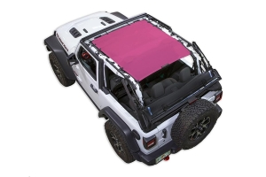 Spiderwebshade JL2D ShadeTop Pink - JL 2dr