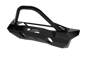 Icon Vehicle Dynamic Pro Series Recessed Winch Front Bumper w/ Bar and Tabs - JK