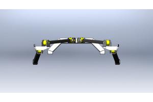 Clayton Rear Long Arm Upgrade Kit  (Part Number: )