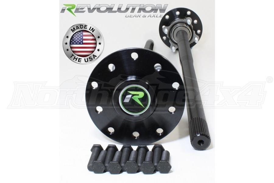Revolution Gear D44 30 Spline Rear Axle Kit  - TJ/LJ Non-Rubicon w/ Drum Brakes