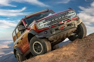 Warn Elite Front Bumper w/ Grille Guard - Ford Bronco