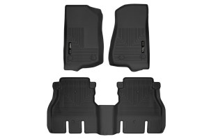 Husky Liners X-Act Front and Rear Contour Floor Liners - JL 4Dr