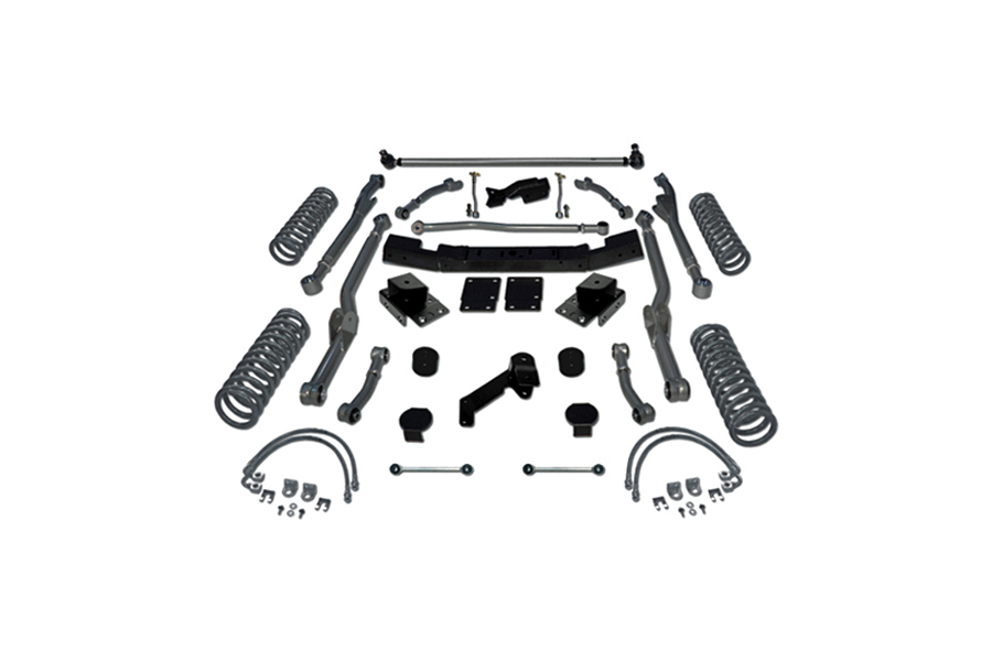 Rubicon Express 3.5in Extreme Duty Long Arm Lift Kit  (Part Number:RE7363)