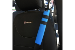 Bartact Universal Seat Belt Covers, Pair - Blue