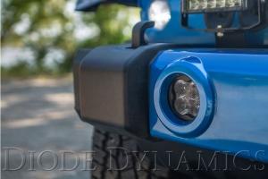 Diode Dynamics SS3 Pro Type M Fog Light, Yellow - JT/JL/JK