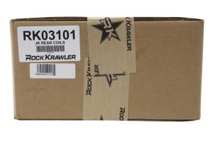 Rock Krawler Rear Coil Springs - 2.5in JK4dr, 3.5in JK2dr