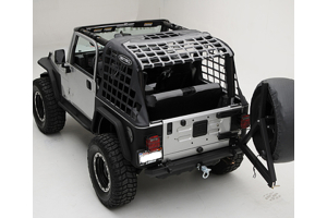 Smittybilt SRC Bumper w/Tire Carrier, Hitch and D-Rings (Part Number: )