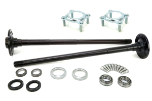 Ten Factory Dana 44 Non-Rubicon Rear Chromoly Axle Kit 30 Spline With Pressed bearings